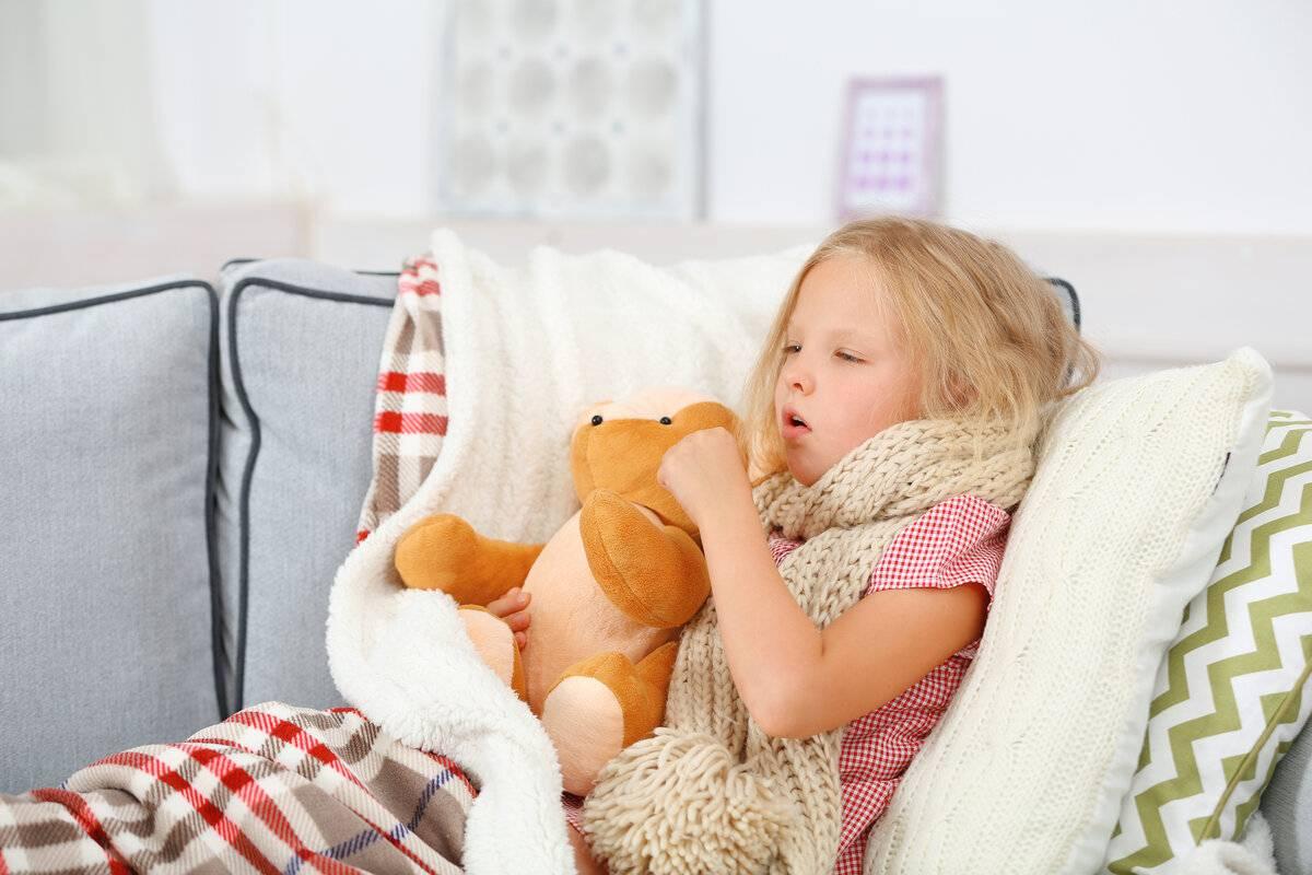 мучительный сухой кашель у ребенка