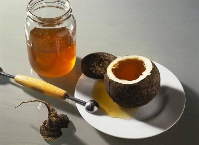 Помогает ли черная редька с медом от кашля и гриппа? рецепты лечебного средства, его польза и вред
