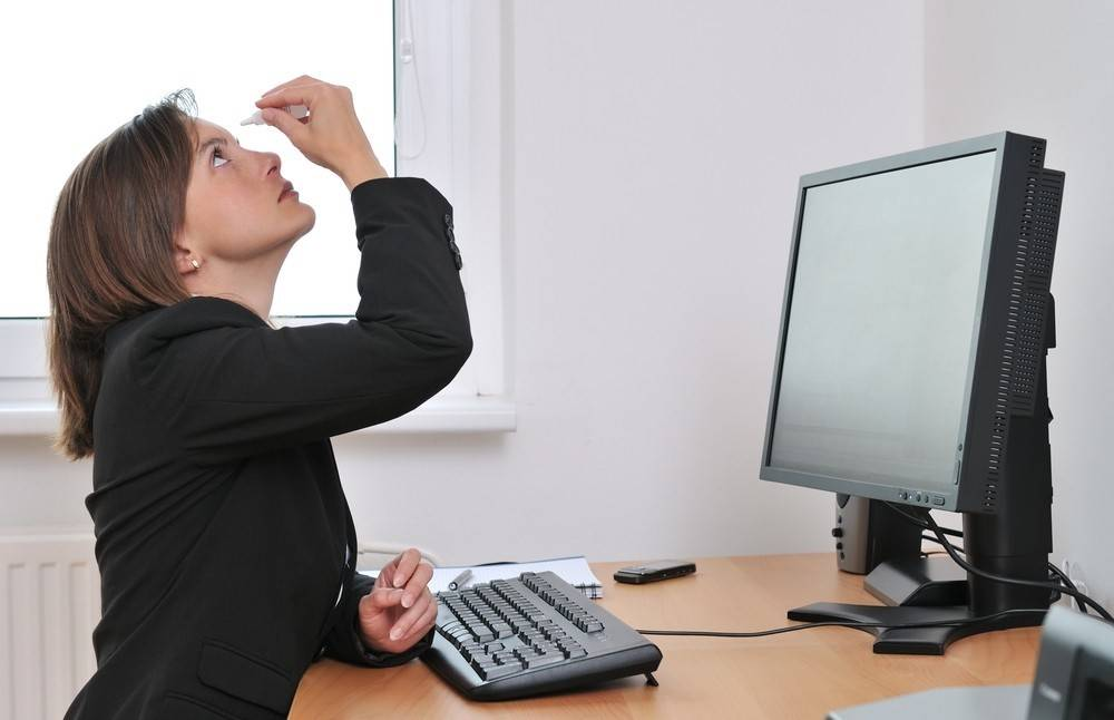 Вреден ли компьютер для зрения