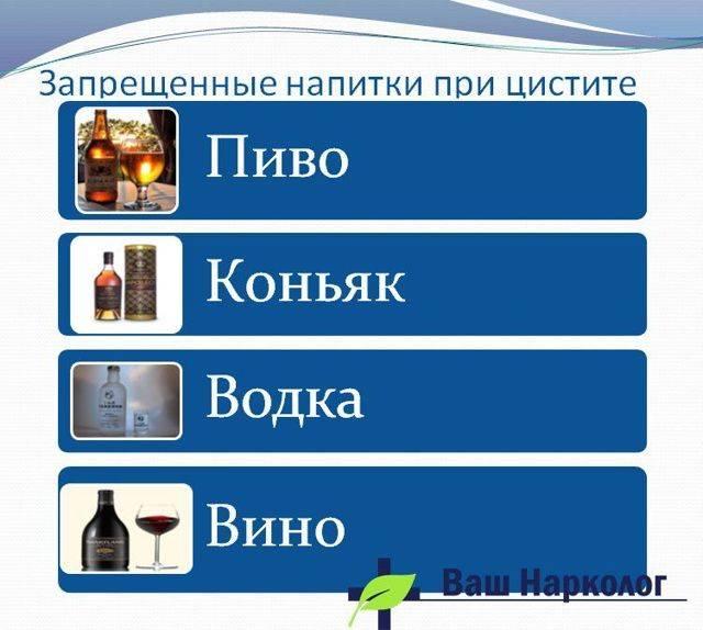 цистит и пиво