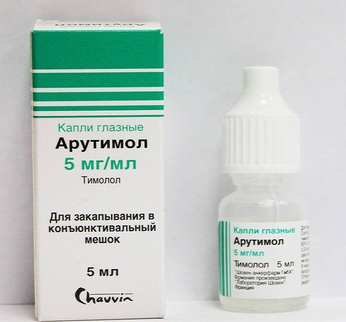 лекарства от глазного давления