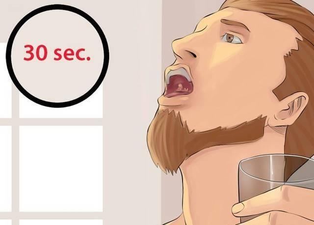 Как разводить яблочный уксус для полоскания горла