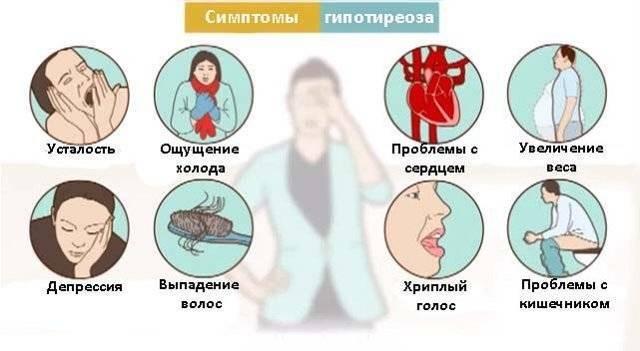 гиперфункция щитовидной железы симптомы