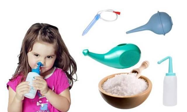 Причины и лечение прозрачных соплей у ребенка