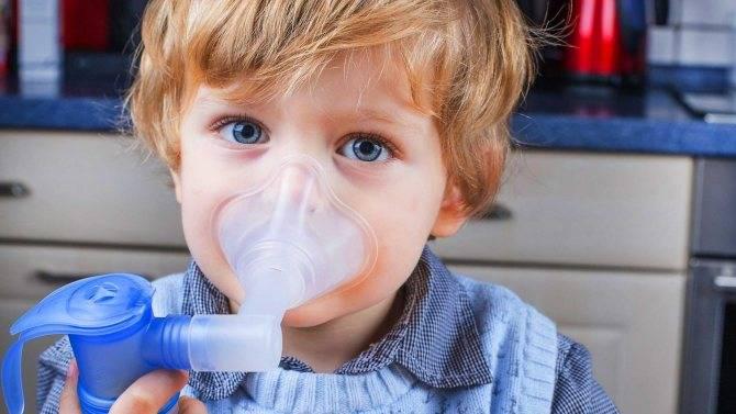 Ингаляции при ларингите у детей и взрослых
