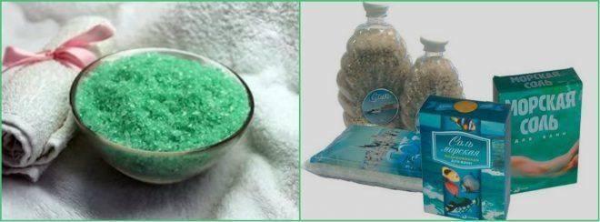 Соль морская полоскание горла