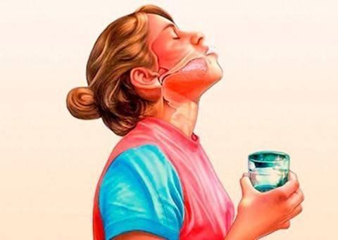 полоскание горла при ларингите у взрослых