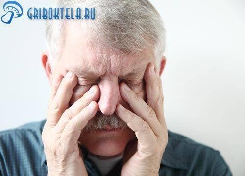 Грибок в носу фото симптомы лечение