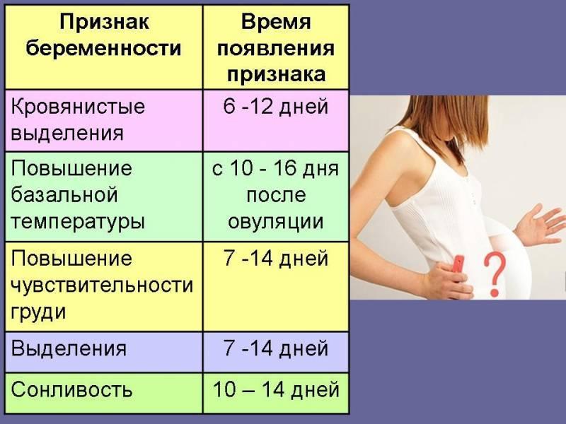 Как начинает болеть грудь после зачатия