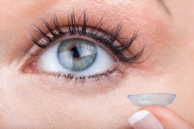 вредны ли контактные линзы для глаз