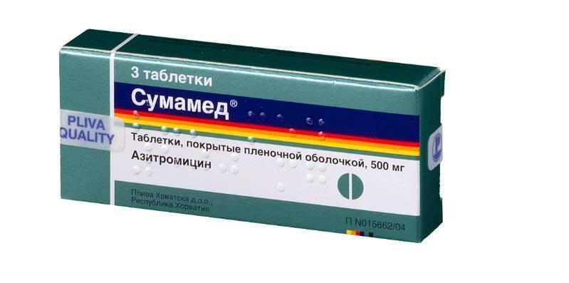 Какие антибиотики давать при ларингите детям