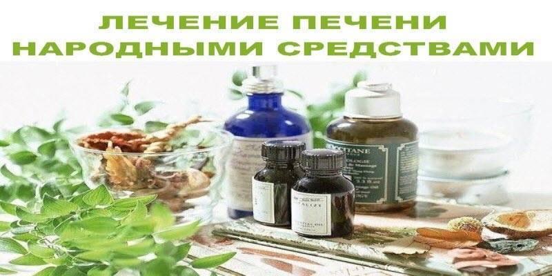 лечение печени народными средствами