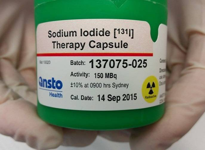 Радиоактивный йод в лечении заболеваний щитовидной железы