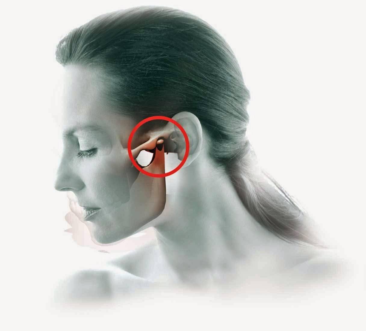 Почему болит за ухом справа и слева, как снять боль?