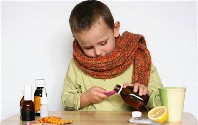 лечение кашля у детей до 2 лет