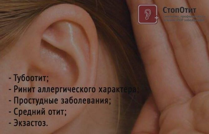 Закладывает ухо как лечить в домашних условиях