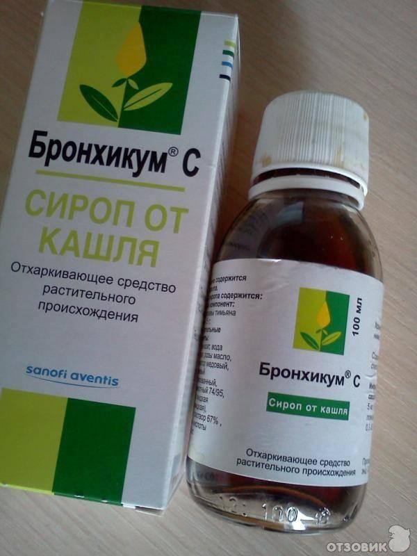 Влажный кашель у ребенка лечение сироп