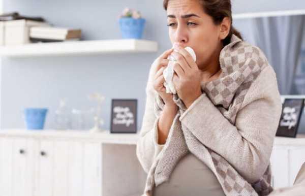 сухой кашель у беременной 2 триместр