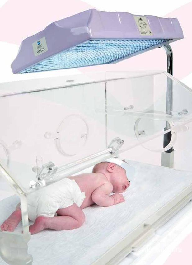 Лечение желтухи у новорождённых фототерапией