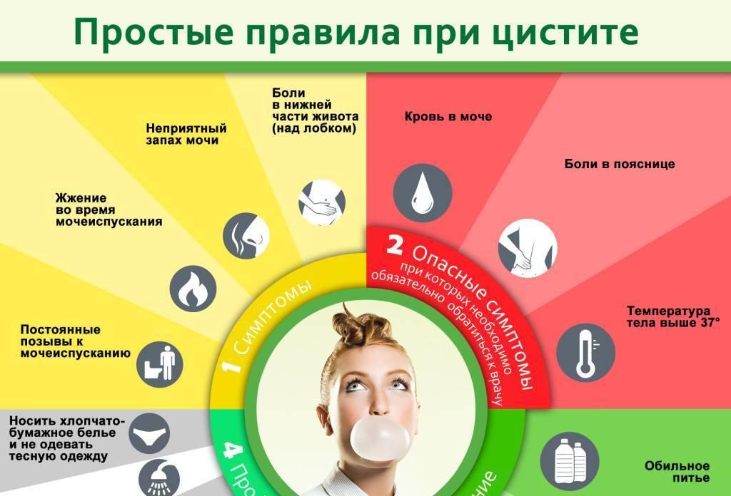 Циститы (воспаление мочевого пузыря)