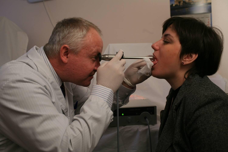 Течение рака гортани и его осложнения