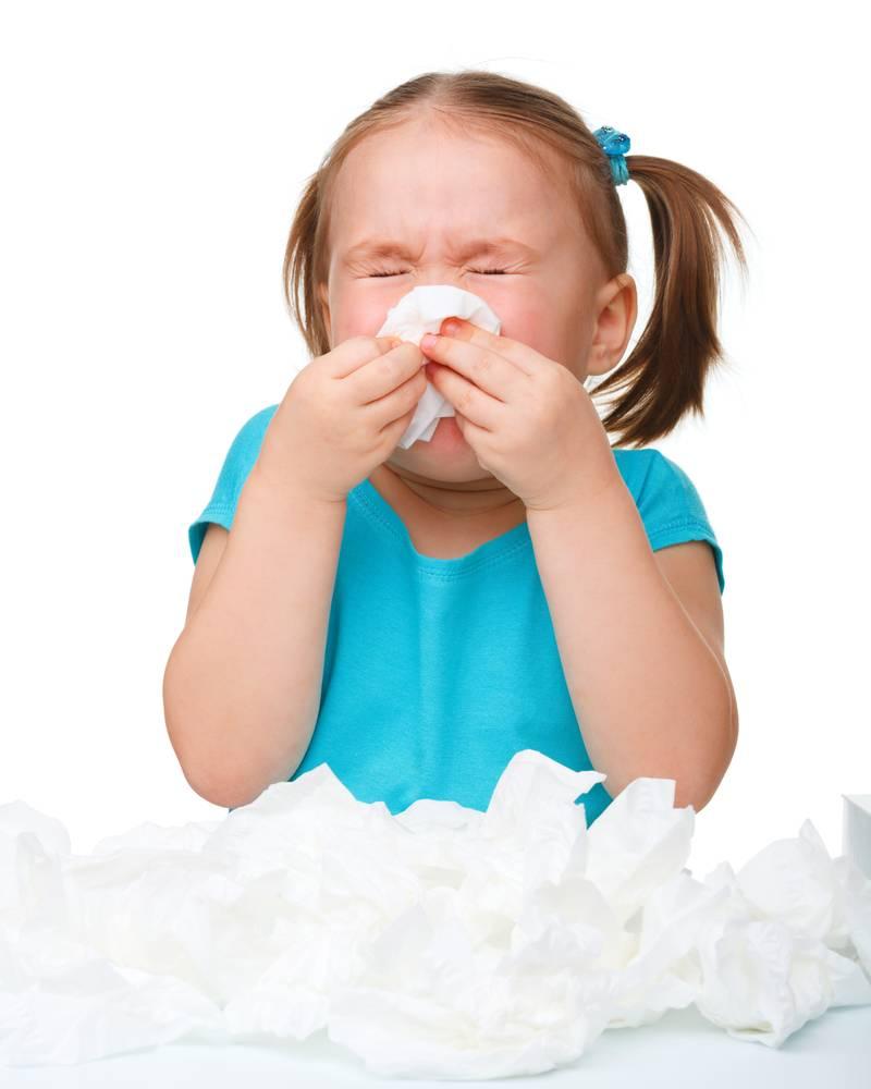 Насморк, кашель, температура 37 у ребенка