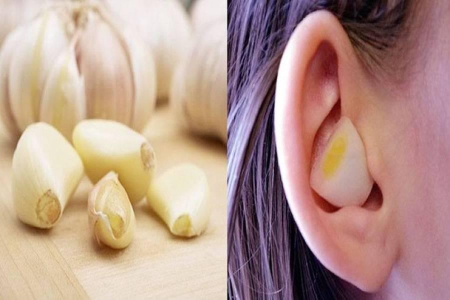 Положить лук или чеснок в ухо? в чем польза?