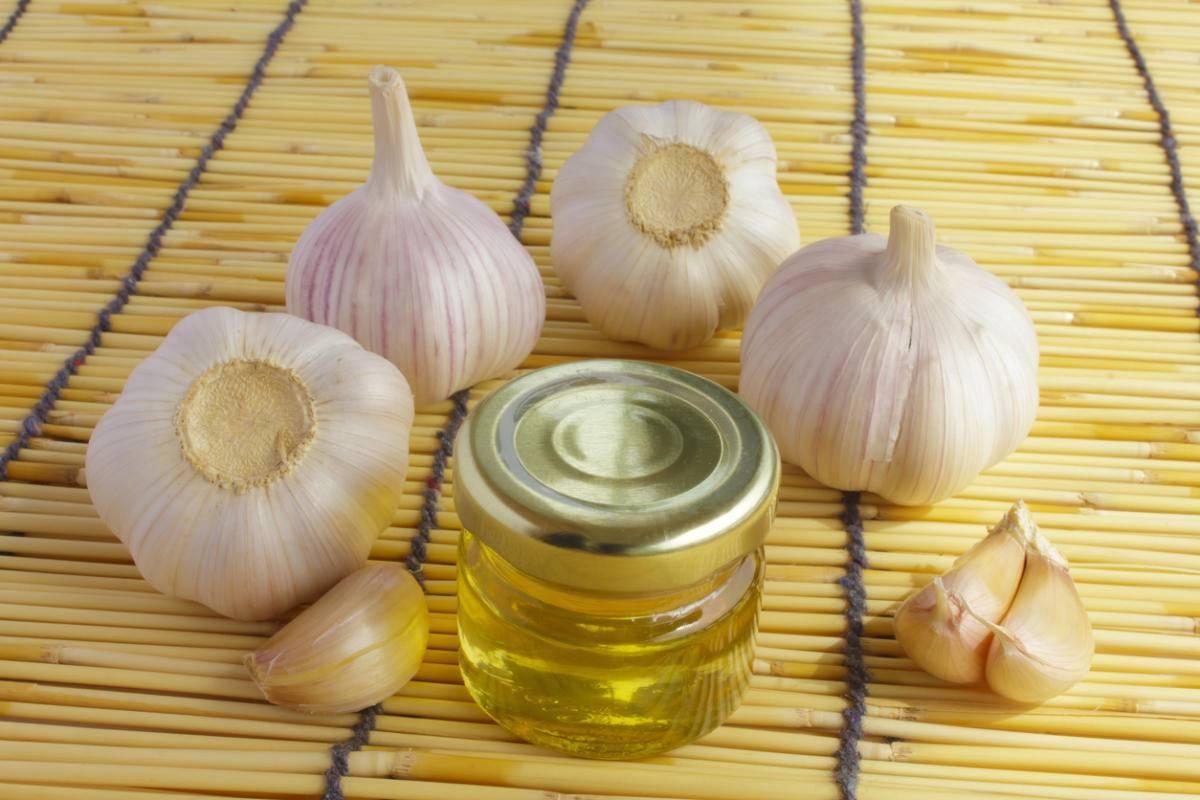 чесночное масло от насморка