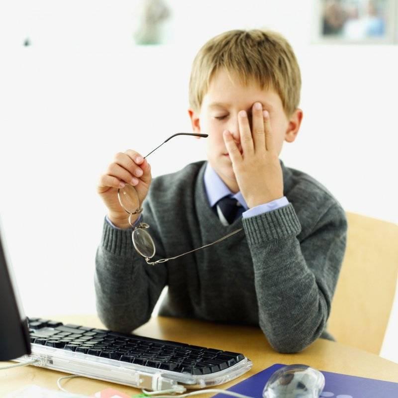 как не испортить зрение за компьютером