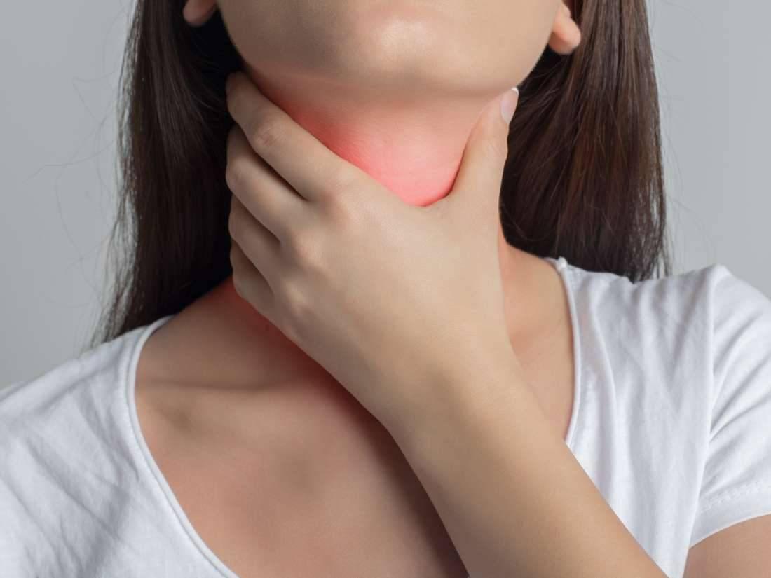 что делать если опухло горло и болит