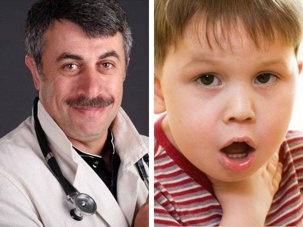 боль в горле у ребенка чем лечить доктор комаровский
