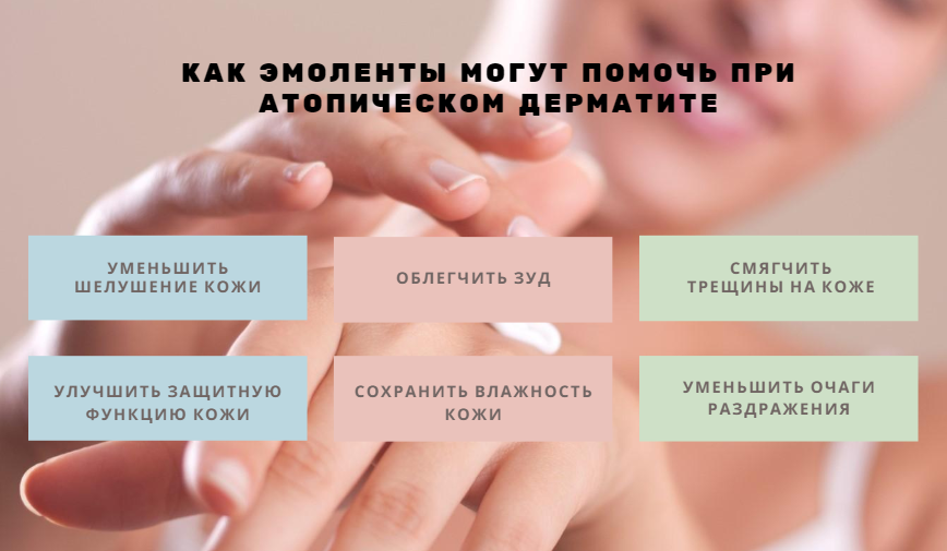 Что такое эмоленты и как их применять при атопическом дерматите?