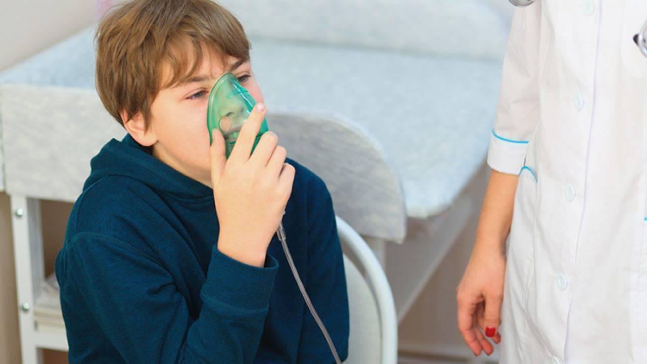 ингаляции физраствором от насморка для детей небулайзер