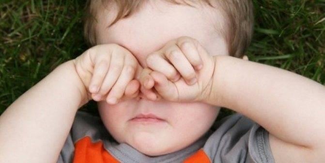 Зуд в глазах у ребенка причины лечение