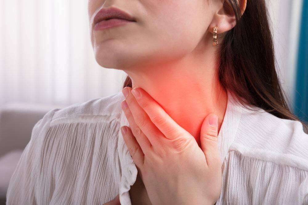 Першит в носоглотке: как и чем лечить?