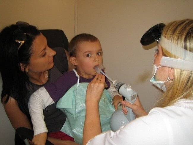 Лазеротерапия при лор заболеваниях