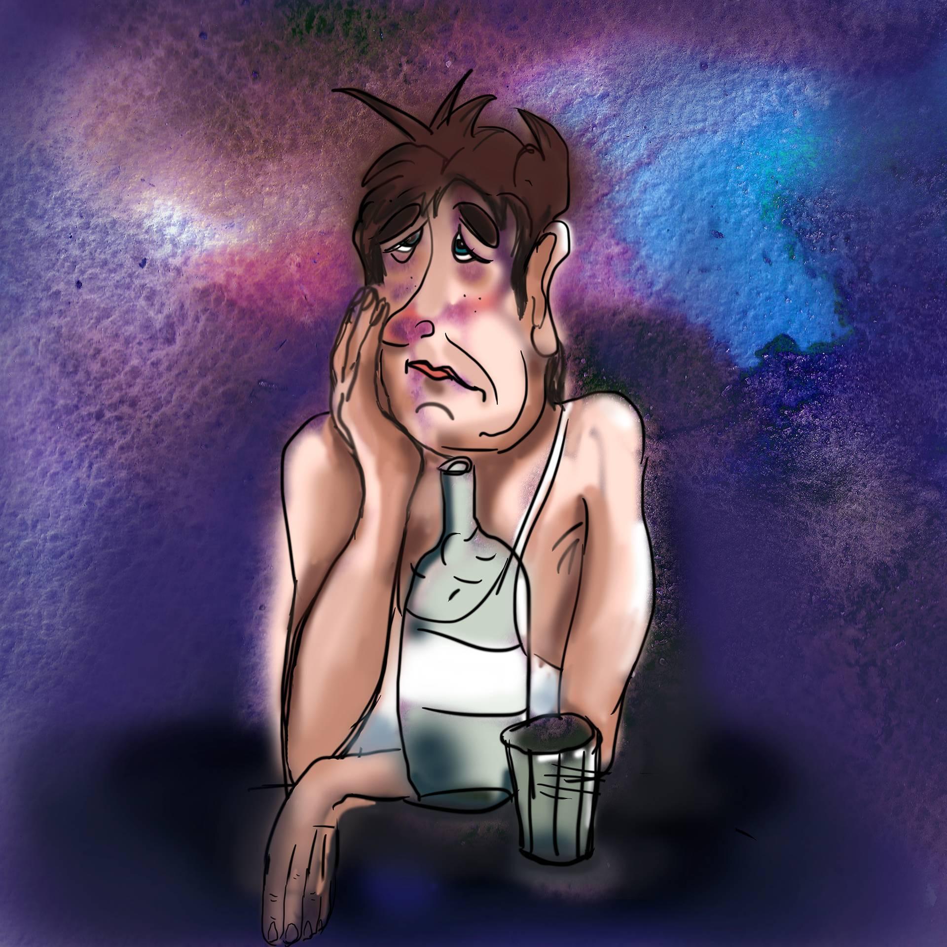 Алкогольный галлюциноз