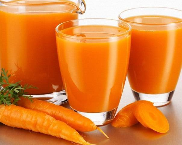 сок моркови от насморка