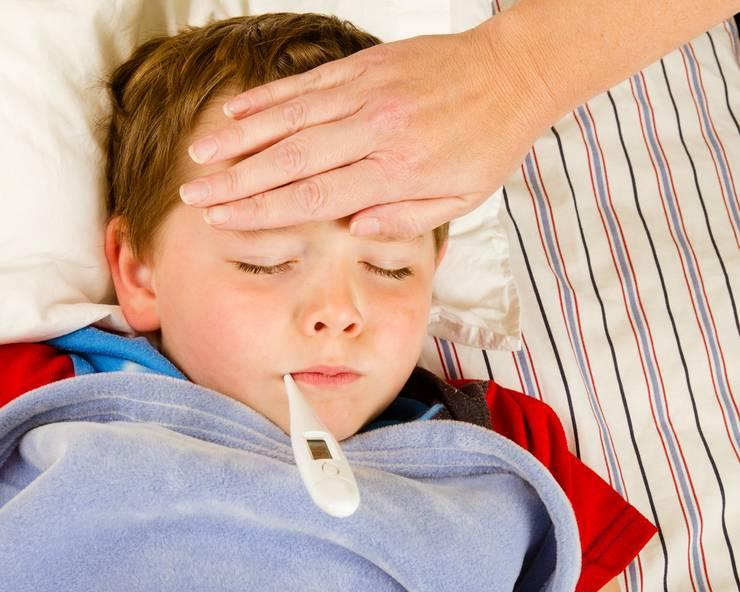 нужно ли сбивать температуру при ангине