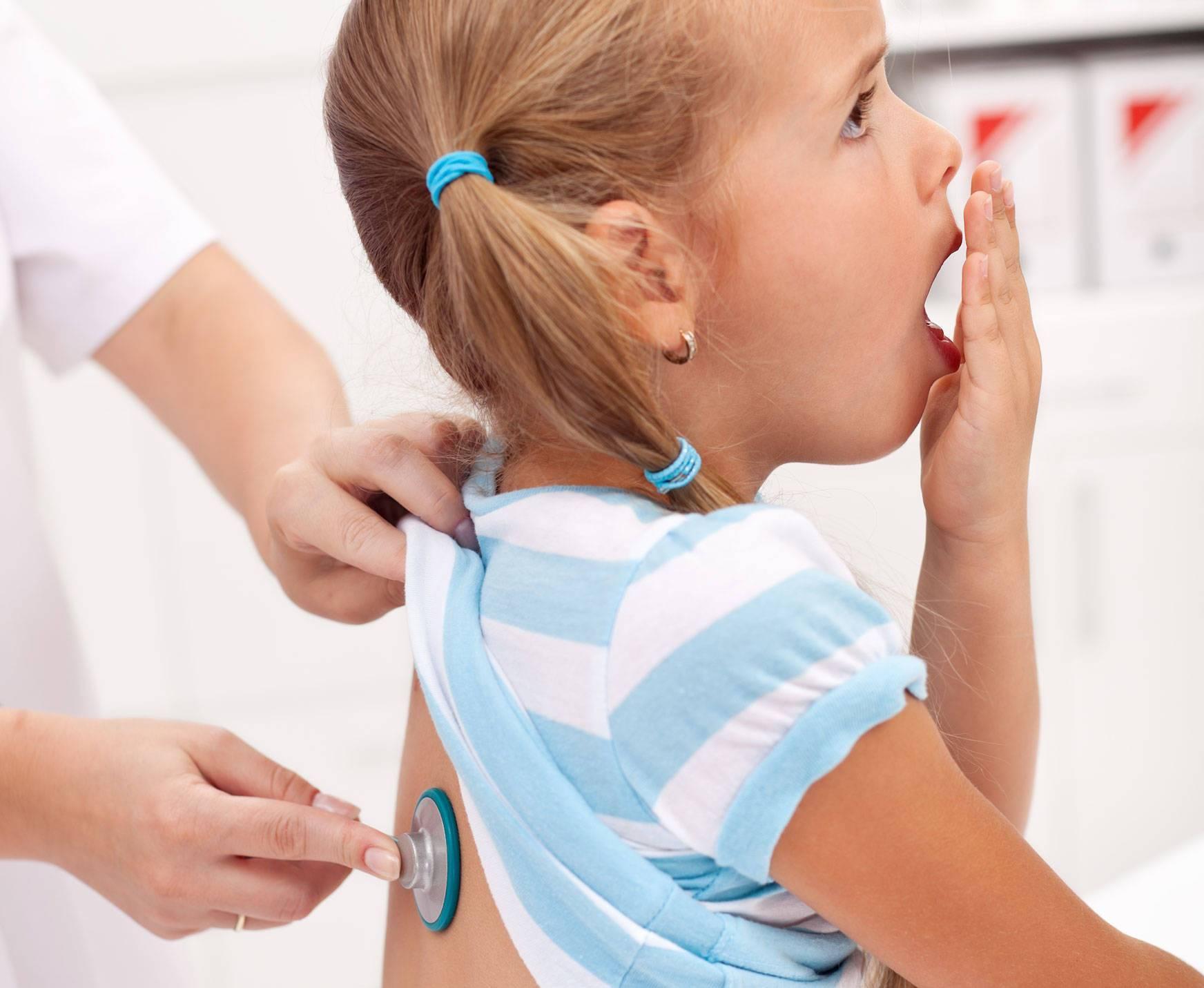 красное горло и кашель у ребенка