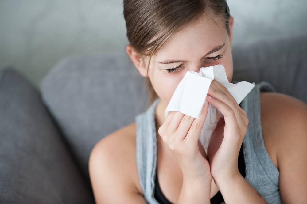 Першение в носу простуда