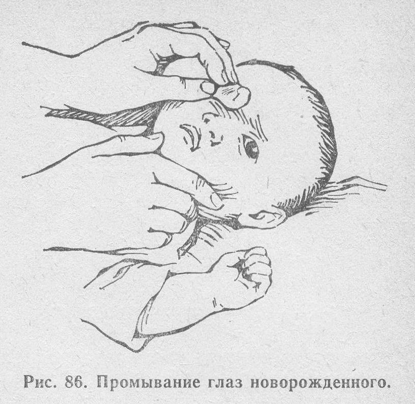 Чем лучше промывать глаза ребенку