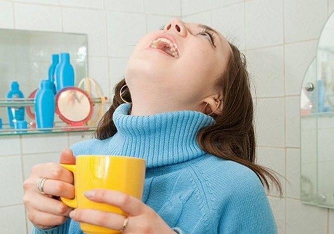 лечение ангины водкой