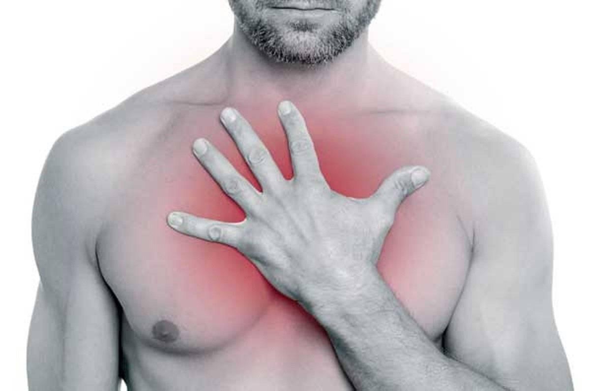 болит правая грудь у мужчин