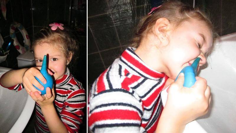 морская вода для промывания носа детям
