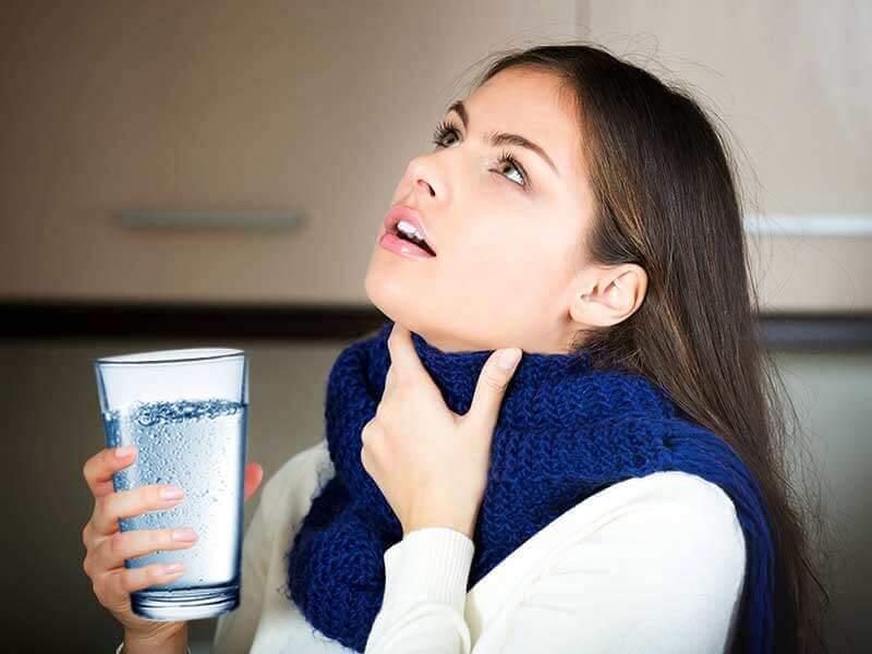 соляной раствор для полоскания горла