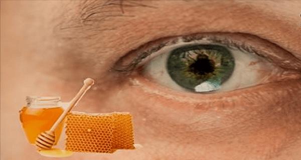 Медовые капли для глаз