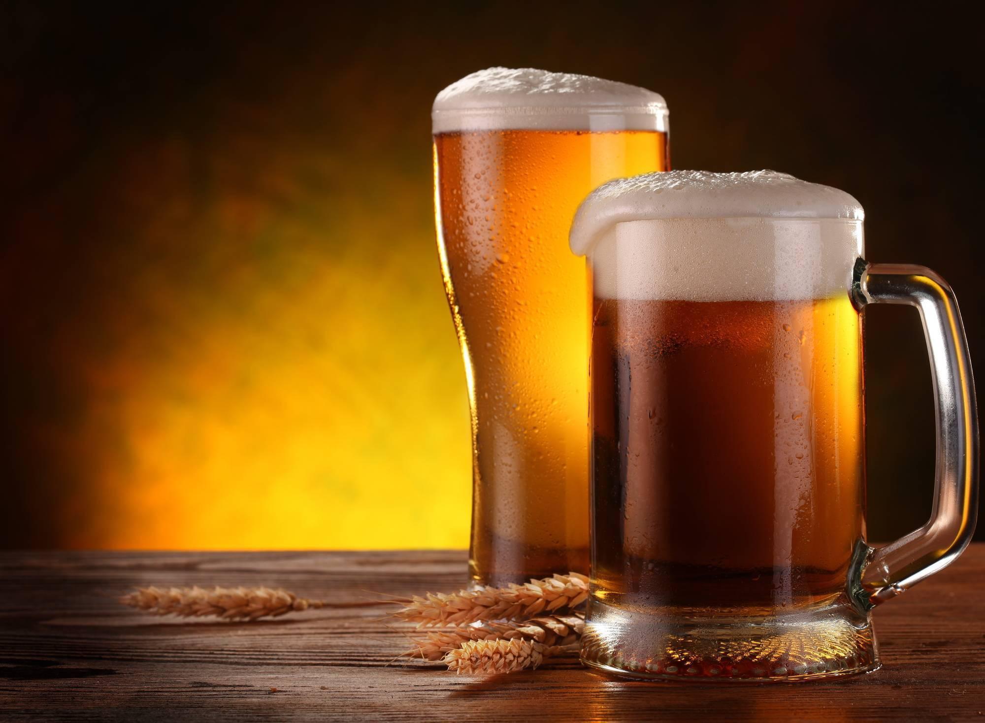 Пиво теплое при ангине