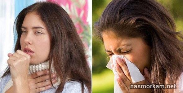 постоянный сухой кашель и першение в горле