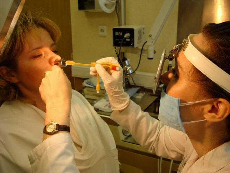 Анемизация слизистой носа